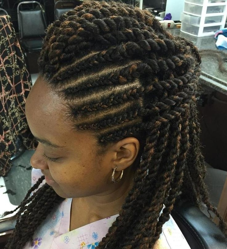 The 72 Best Braids Images On Pinterest | African Hairstyles, Black In Most Popular Nubian Princess Fulani Braid Pullback (View 14 of 15)