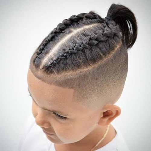 The Adorable Little Boy Haircuts You & Your Kids Will Love | Cute Throughout Most Recently Revamped Braided Ponytail (View 6 of 15)