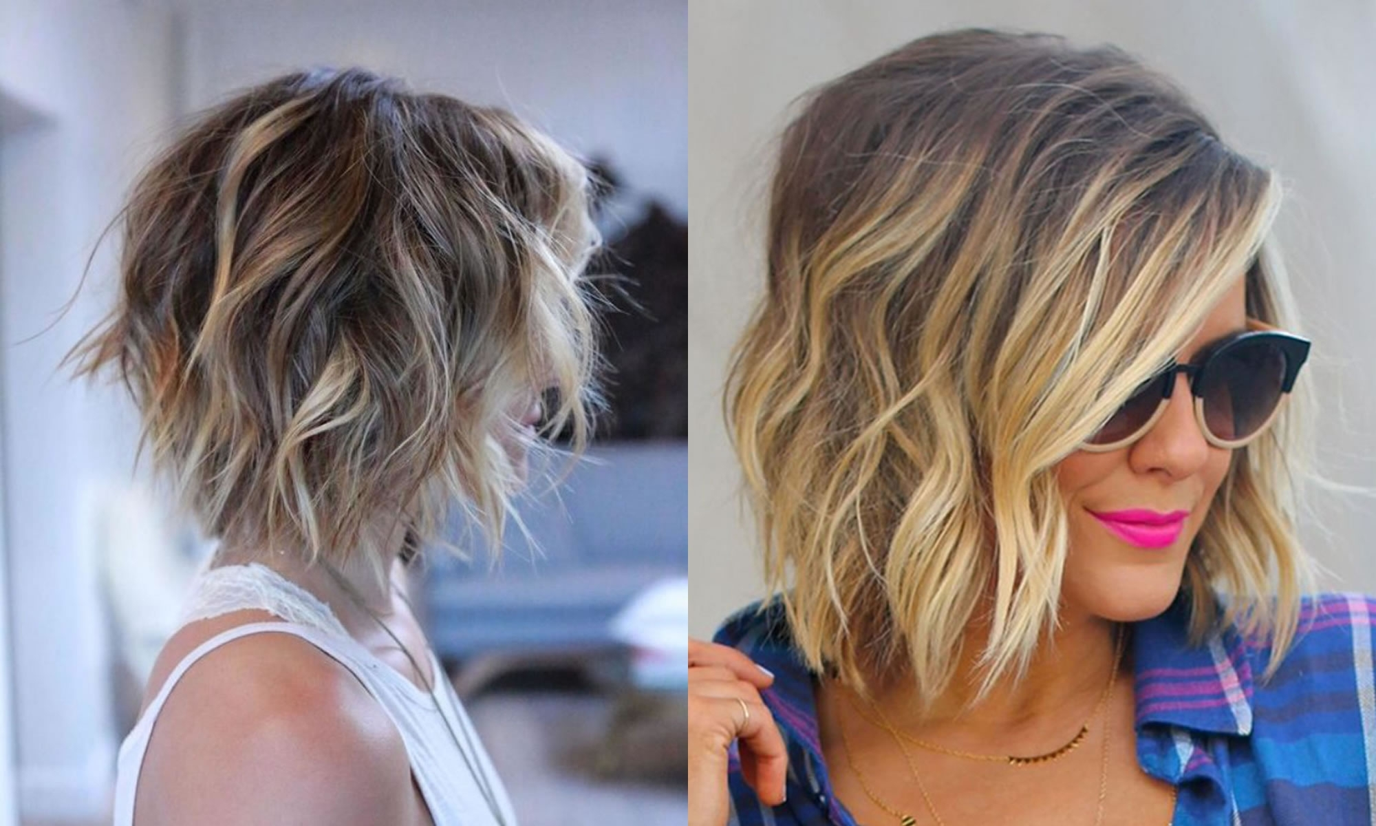 The Best 50 Balayage Bob Hairstyles (Short+Long) & Highlights – Page Throughout Most Popular Balayage Pixie Haircuts With Tiered Layers (View 11 of 15)