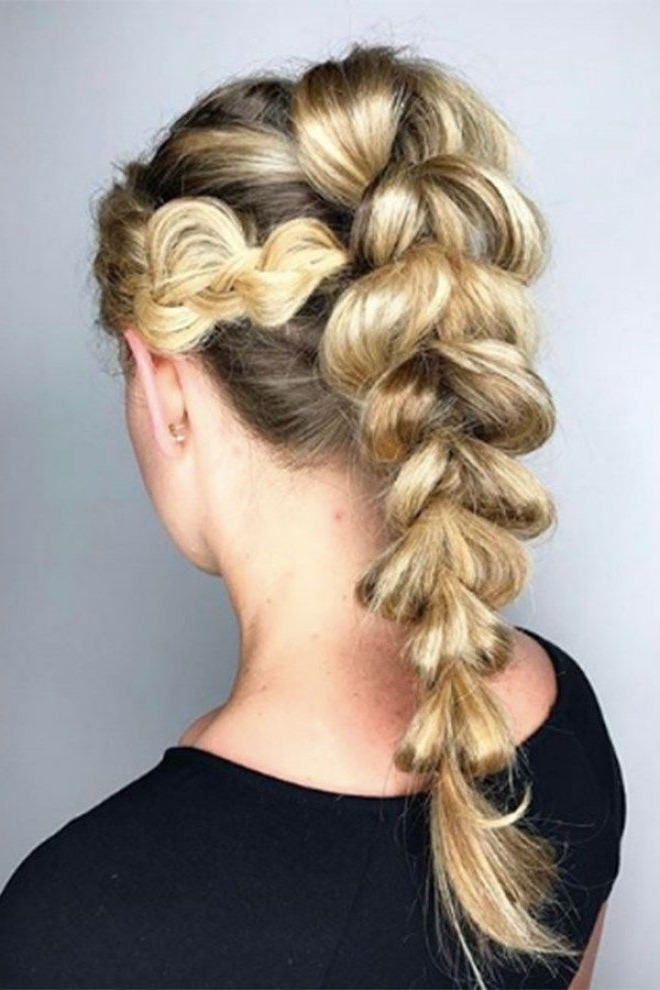 The Best Bubble Braid Styles As Toldinstagram | Pinterest Within Current French Braid Hairstyles With Bubbles (View 10 of 15)