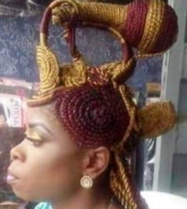 The Bizarre Nigerian Cornrow Hairstyle Everyone Is Talking About Intended For Best And Newest Nigerian Cornrows Hairstyles (View 12 of 15)
