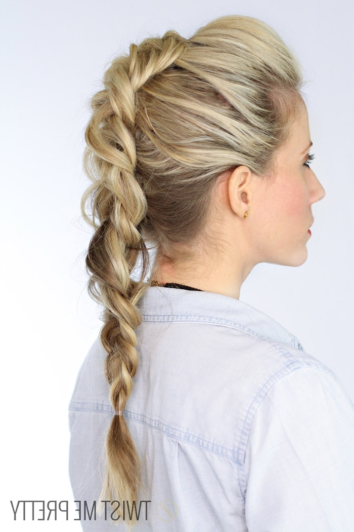 The Faux Hawk | Day 13 – Twist Me Pretty Within Latest Long Braided Faux Hawk (View 3 of 15)