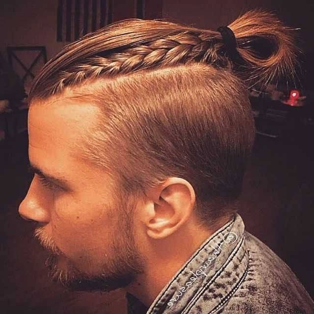 The Man Bun Braids A Surprising New Men S Hair Trend Most Delightful With Most Current Braided Hairstyles For Man Bun (View 15 of 15)
