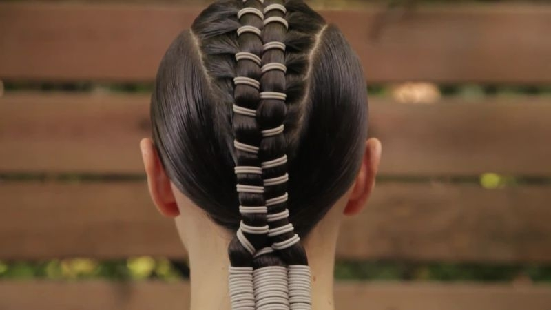 The Shokunin Sessions: Zipper Braids – Allure Videos – The Scene With Regard To Most Recent Zipper Braids With Small Bun (View 4 of 15)