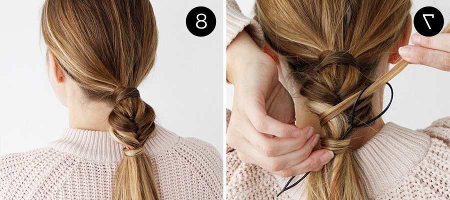 This Beautiful Bubble Braid Is Perfect For Medium To Long Hair Intended For Recent French Braid Hairstyles With Bubbles (View 15 of 15)