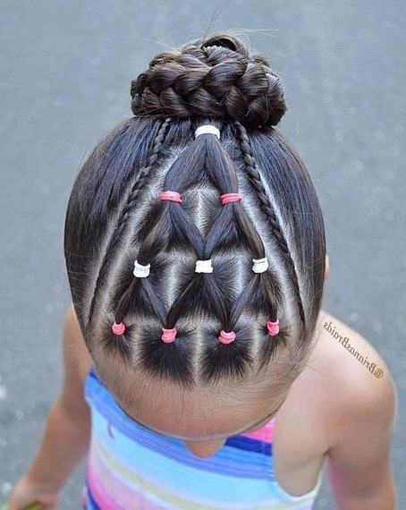 Toddler Braided Hairstyles With Beads   Hairstyles & Haircuts For Pertaining To Most Recently Braid Hairstyles With Rubber Bands (View 9 of 15)