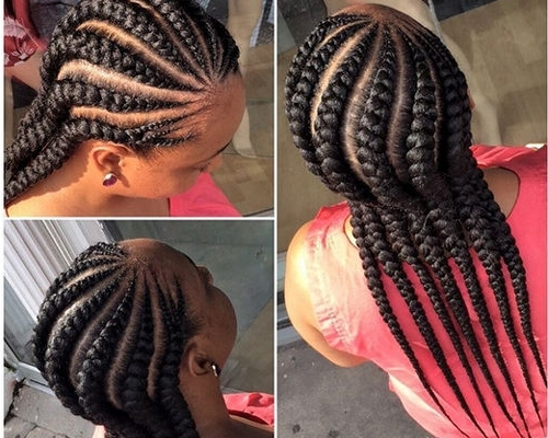 Top 10 Beautiful And Simple Hairstyles You Can Always Try | Botswana Inside Newest Carrot Cornrows Hairstyles (View 3 of 15)