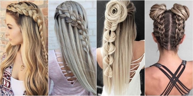 Top 10 Braid Hairstyles For Girls That Are Just Awesome Intended For Current Top Braided Hairstyles (View 13 of 15)