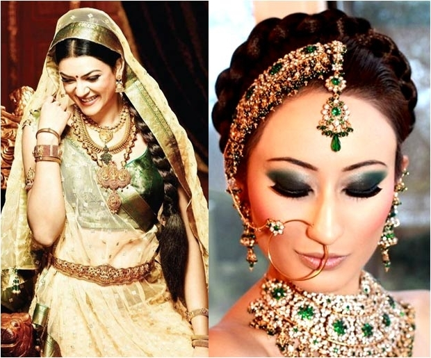 Top 10 Bridal Braid Hairstyles For Sarees   Hairstyle Ideas Pertaining To Newest Indian Braided Hairstyles (View 15 of 15)