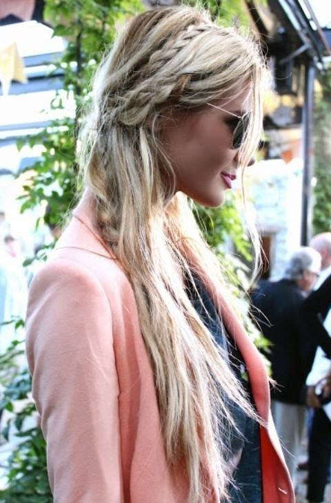 Top 25 Paris Hilton Hairstyles – Pretty Designs For Most Recently Messy Braid Hairstyles (View 13 of 15)