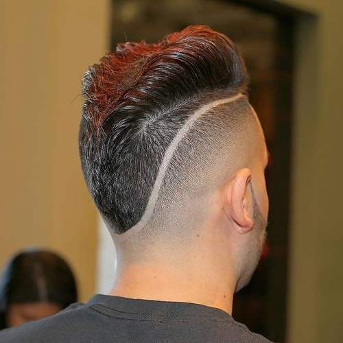 Top 30 Mohawk Fade Hairstyles For Men For 2018 Double Bun Mohawk With Undercuts (View 13 of 15)