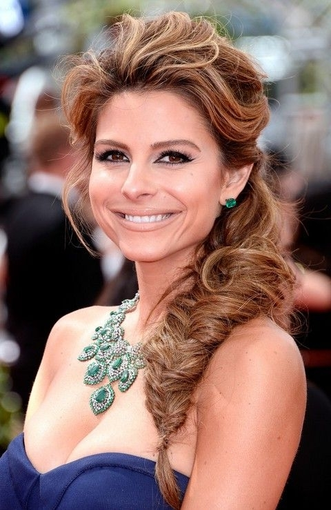 Top 40 Maria Menounos Gorgeous Hair Styles | Pinterest | Maria Throughout Most Recent Messy Braid Hairstyles (View 4 of 15)