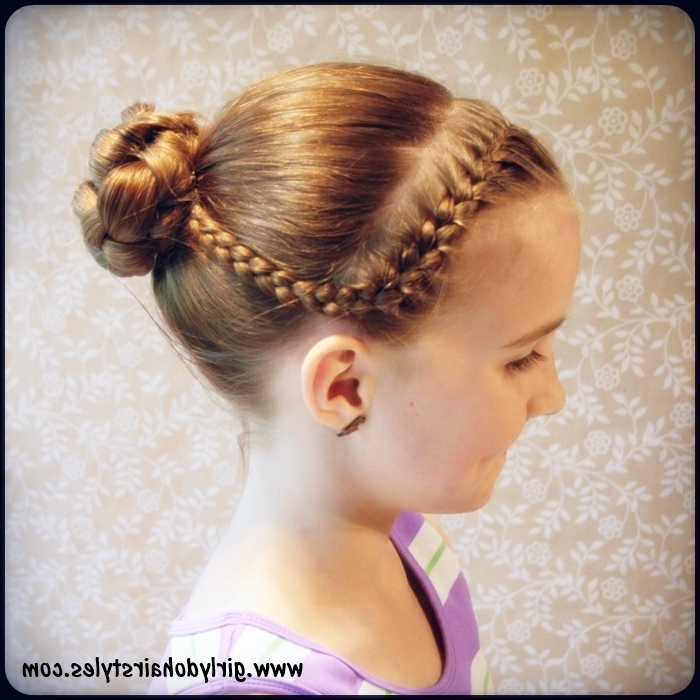 Top Picture Of Hairstyles For Dancers | Alice Smith In Current Braided Hairstyles For Dance (View 12 of 15)