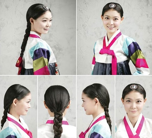 Traditional Hairstyles For Modern Beauties – The Chosun Ilbo Throughout Most Popular Korean Braided Hairstyles (View 13 of 15)