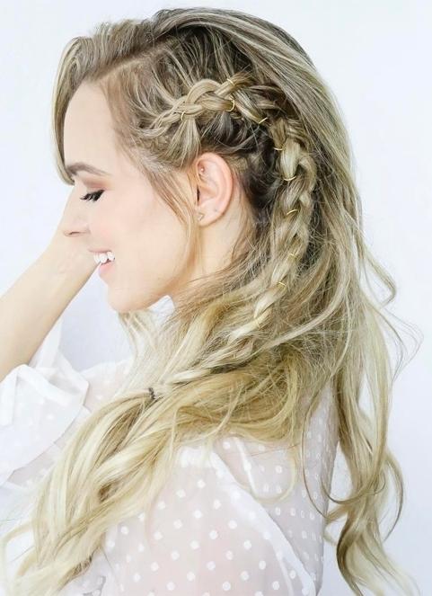 Trendy Side Braid Hairstyles For Long Hair 2018 | Inside 2018 Side Braid Hairstyles For Long Hair (View 12 of 15)