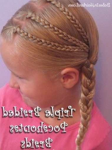 Triple Braided Pocahontas Braids & Circus Tickets | Pinterest Inside Most Recently Pocahontas Braids Hairstyles (View 11 of 15)