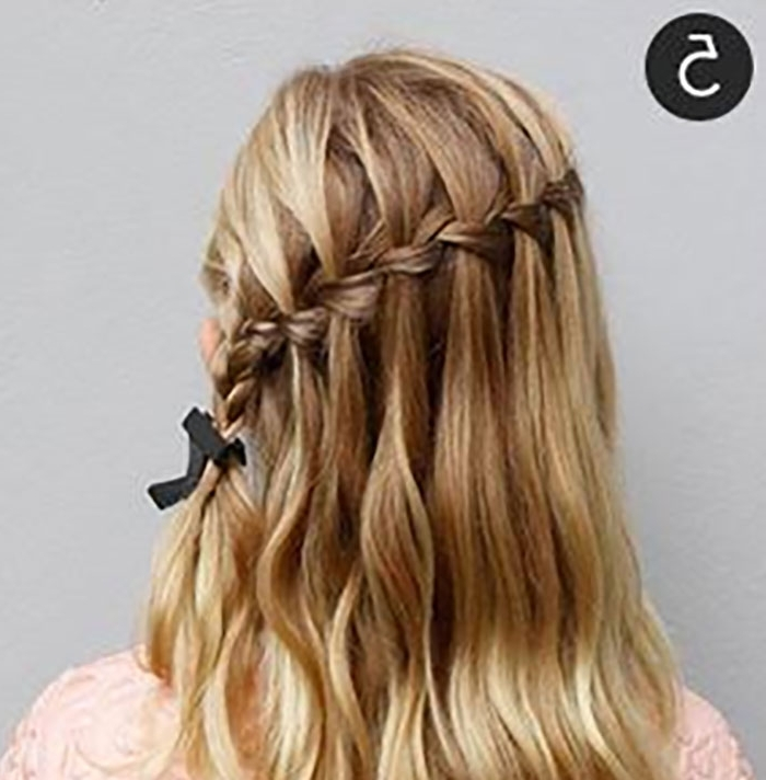 Try This Hairstyle – Diagonal Ladder Braid Into A Side Ponytail Pertaining To Most Current Diagonally Braided Ponytail (View 3 of 15)