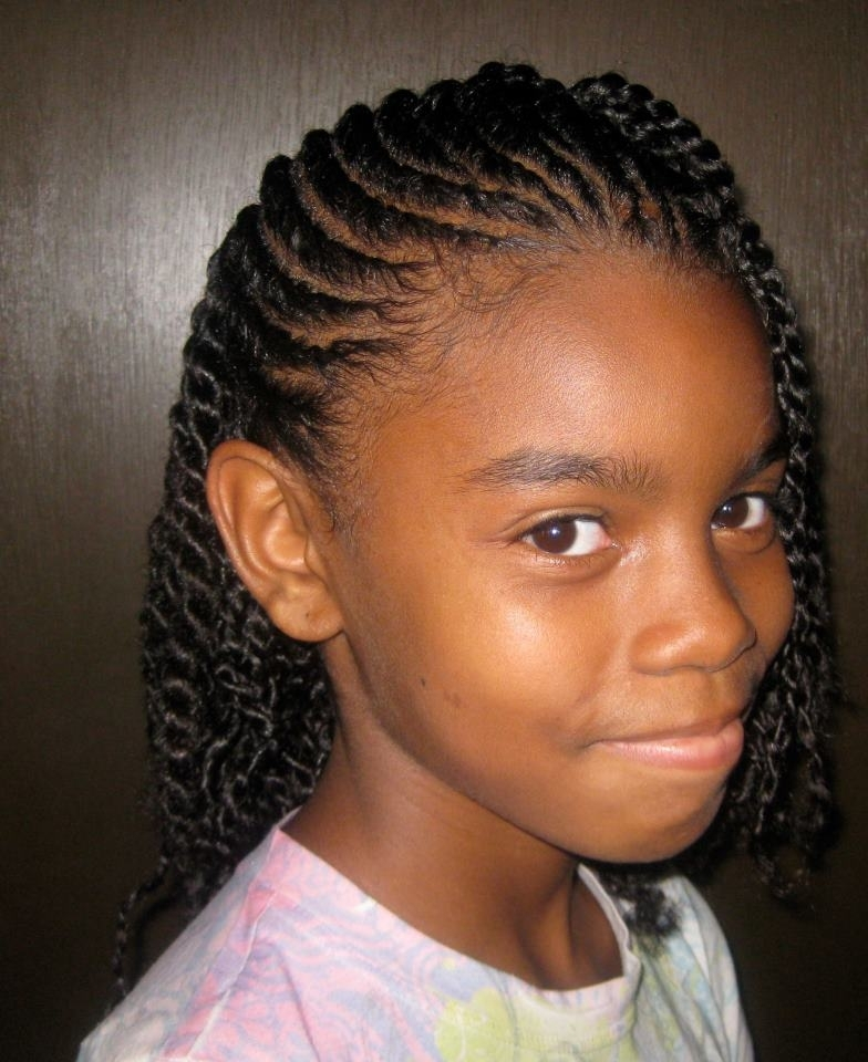 Twist Hairstyles With Weave Beautiful Twist Hairstyles With Weave Inside Most Popular Braided Hairstyles Without Weave (View 8 of 15)