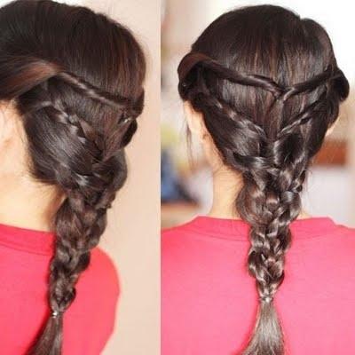 Twist Triple Braid Hairstylekeren L | Preen Regarding Latest Triple The Braids Hairstyles (View 11 of 15)