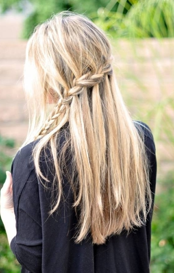 Two Braids Into One – 10 Lovely Hairstyles For Windy Days That Are… Throughout Most Current Two Braids Into One (View 14 of 15)