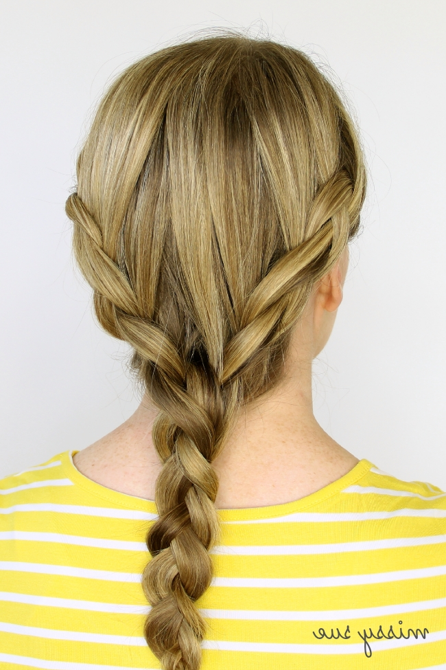 Two Dutch Braids 6 Hairstyles With Regard To Best And Newest Two Braids Into One (View 4 of 15)