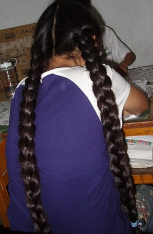 Two Thick Braids | Chotlo | Flickr Pertaining To Most Recent Two Extra Long Braids (View 4 of 15)