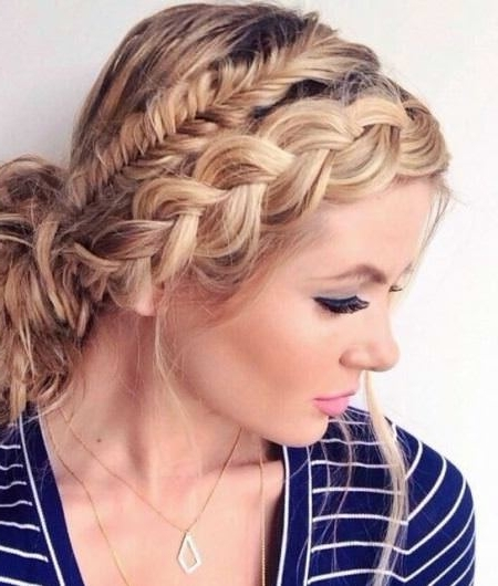 Updos For Women Over 40 Throughout Most Current Braided Hairstyles For Women Over (View 8 of 15)