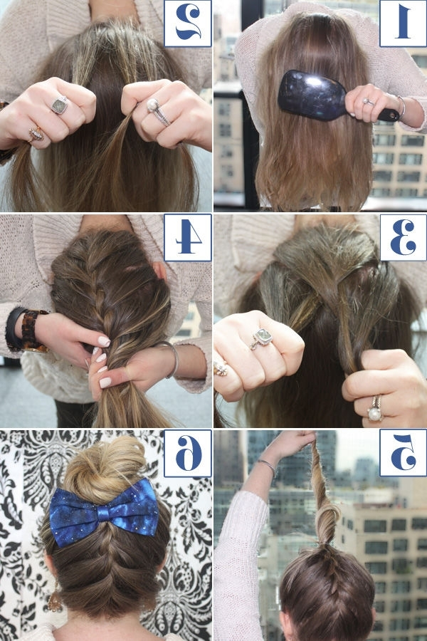 Upside Down French Braid Hair Tutorial Pictures, Photos, And Images Within Latest Upside Down French Braid Hairstyles (View 5 of 15)