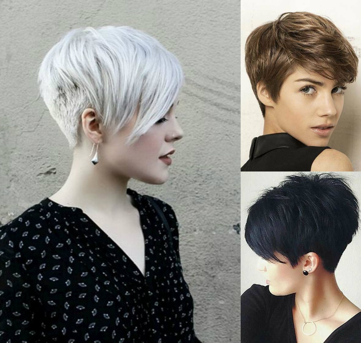 Vibrant Layered Pixie Haircuts 2017 | Hairdrome Inside 2018 Gray Blonde Pixie Haircuts (View 3 of 15)