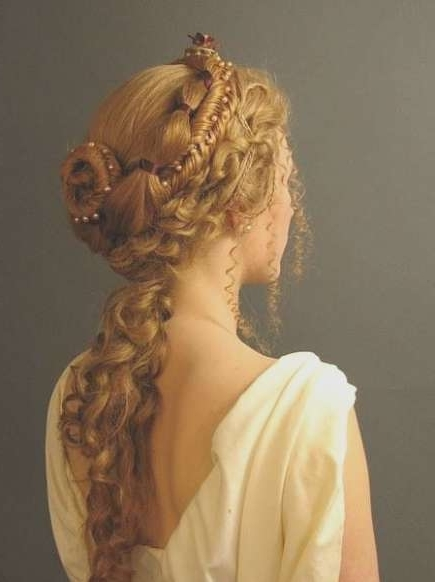 Victorian Braid Hairstyles Everyday Hair For Someone With Servants With Regard To Best And Newest Braided Victorian Hairstyles (View 9 of 15)