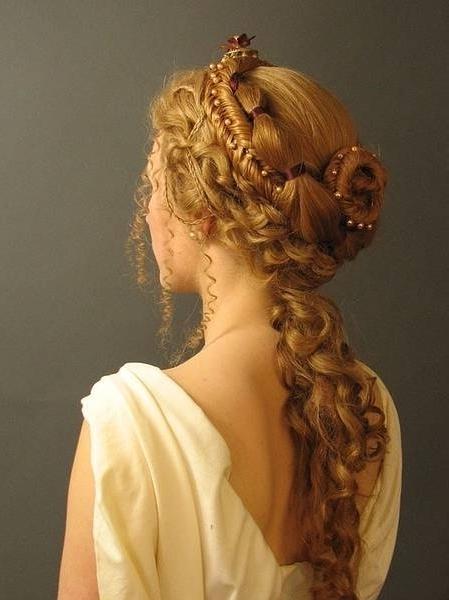 Victorian Hairstyles Uploadeddemi Elf On We Heart It In Latest Braided Victorian Hairstyles (View 6 of 15)