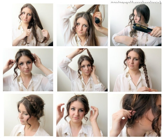 Explore Gallery Of Braided Vintage Hairstyles Showing 7 Of 15 Photos