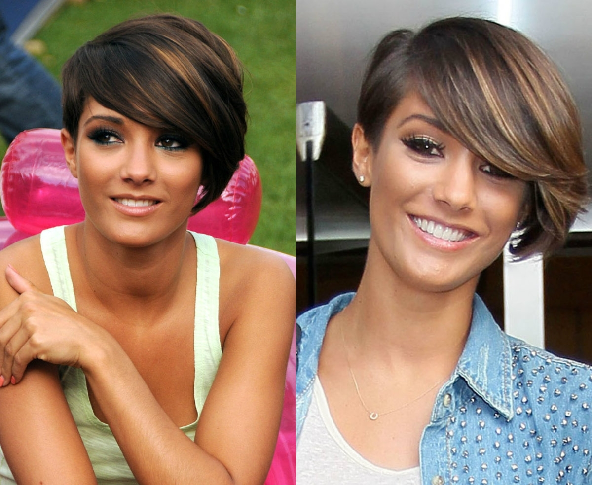 Vivacious Short Pixie Haircuts With Highlights   Hairdrome Inside Best And Newest Long Honey Blonde And Black Pixie Haircuts (View 12 of 15)