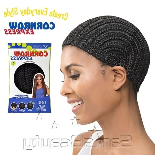 Vivica Fox Cornrow Express Straight Back Regular Cap – Samsbeauty With Regard To Best And Newest Wavy Straight Back Braids (View 9 of 15)