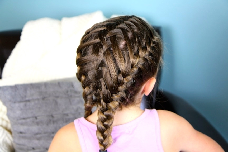 Waterfall Braids Into Double Frenchbacks   Sport Hairstyles   Cute For 2018 Double French Braids And Ponytails (View 12 of 15)