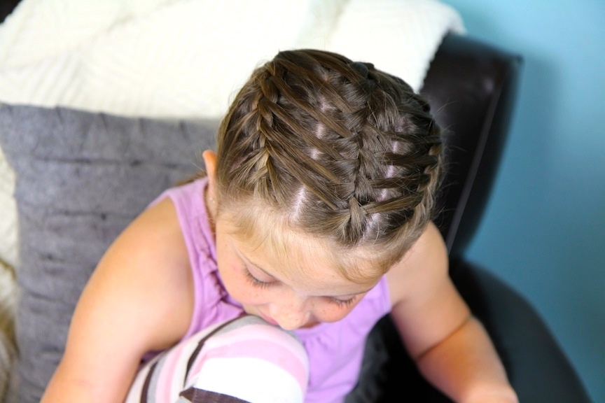 Waterfall Braids Into Double Frenchbacks   Sport Hairstyles   Cute Intended For Most Up To Date Double French Braids And Ponytails (View 13 of 15)