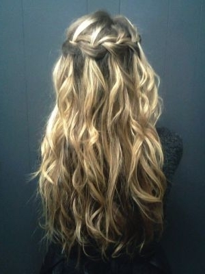 Waves & Braids | I Think My Hair Would Look Good With | Pinterest In Most Popular Braids And Waves For Any Occasion (View 2 of 15)