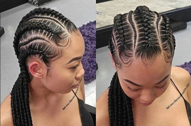 Weave Braid Hairstyles | Hrp Intended For Most Up To Date Braided Hairstyles Without Weave (View 6 of 15)
