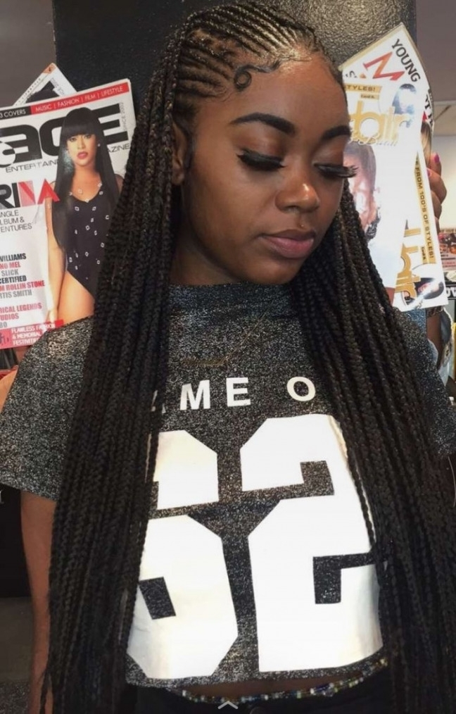 Weave Braided Hairstyles Elegant Cute Weave Braided Hairstyles In Most Up To Date Braided Hairstyles With Weave (View 8 of 15)