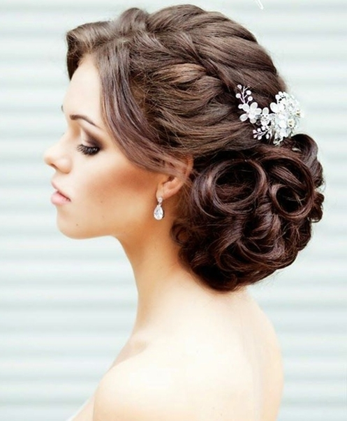 Wedding Braided Updo Hairstyles | Full Dose Inside Most Recent Braided Updo Hairstyles For Weddings (View 10 of 15)