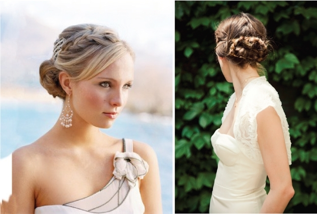 Wedding Trends} : Braided Hairstyles – Belle The Magazine With Regard To 2018 Up Braided Hairstyles (View 10 of 15)