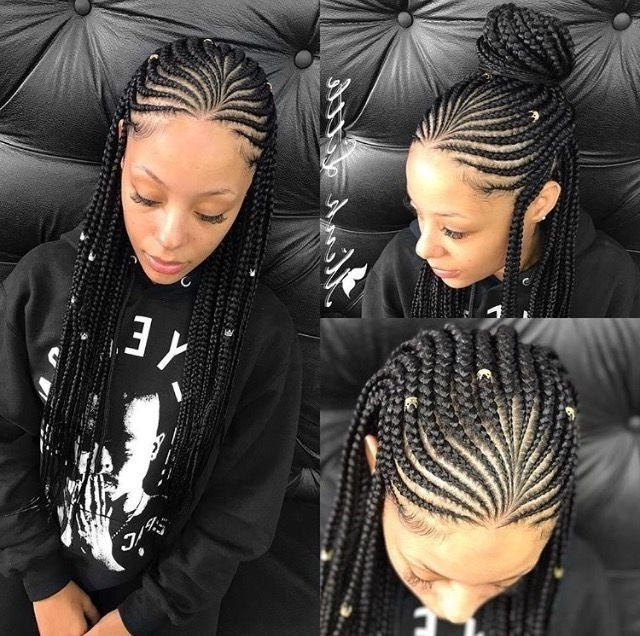 What's Not To Love About These 30 Cornrow Braids Hairstyles In 2018 Cornrows Hairstyles For Wedding (View 6 of 15)