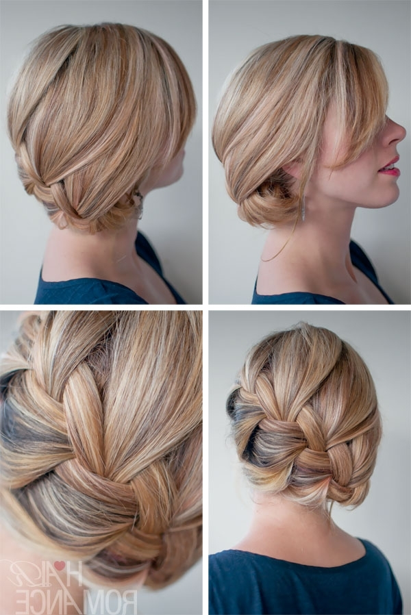 What's The Difference Between A French Braid And A Dutch Braid With Most Recent Low Side French Braid Hairstyles (View 13 of 15)