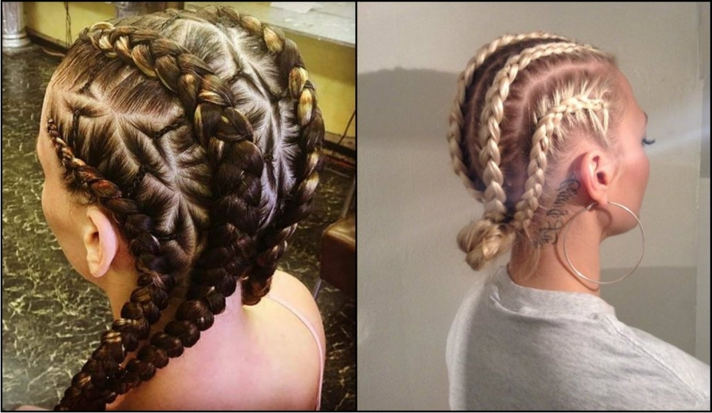 White Girl Braid Hairstyles | Fade Haircut Inside Wonderful Braids Within Recent Braided Hairstyles For White Girl (View 10 of 15)