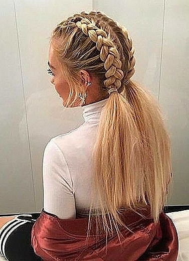 White Girl Hairstyles Cute Hairstyles Fresh Really Cute Braided With Regard To Best And Newest Braided Hairstyles For White Hair (View 2 of 15)