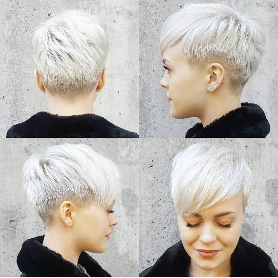 Women Haircuts Bob Cut And Color | Fun Stuff | Pinterest | Undercut Inside 2018 Tousled Pixie With Undercut (View 6 of 15)
