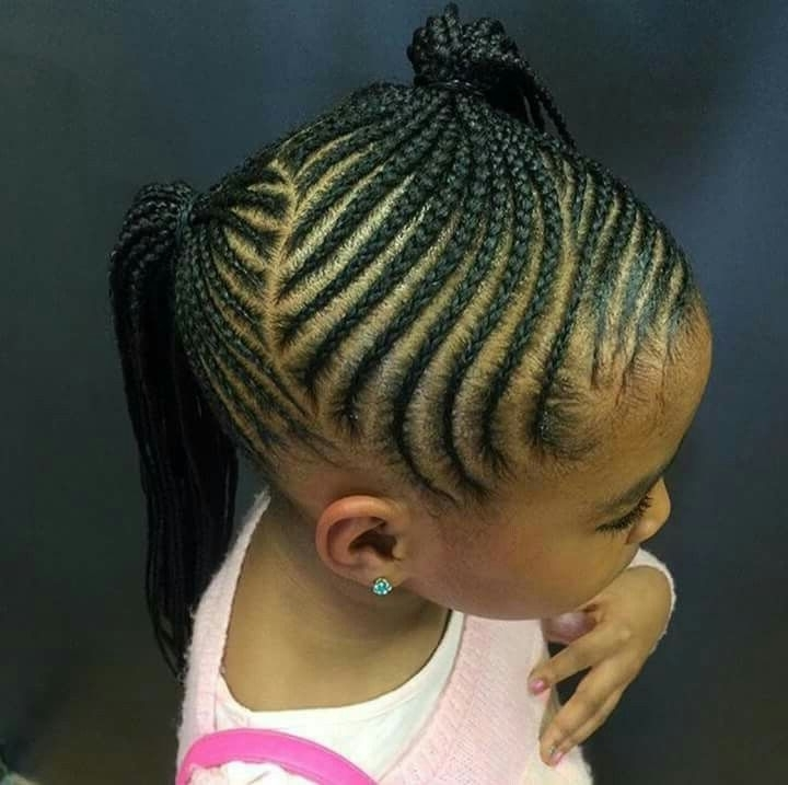 Would You Want To Spend This Much Time On These Chunky & Beautiful Within Recent Braided Hairstyles For Kids (View 4 of 15)