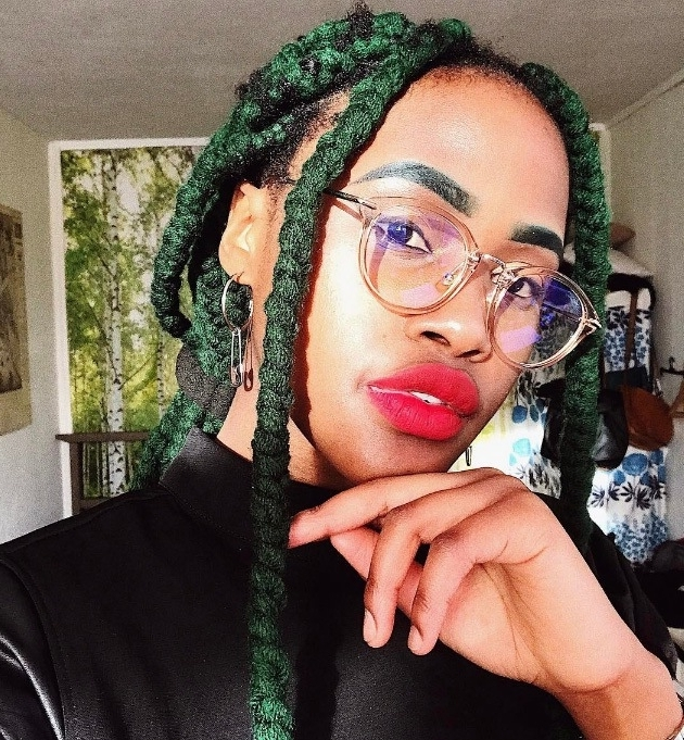 Yarn Braid Hairstyles From Instagram You Have To See For Most Recently Braided Yarn Hairstyles (View 15 of 15)