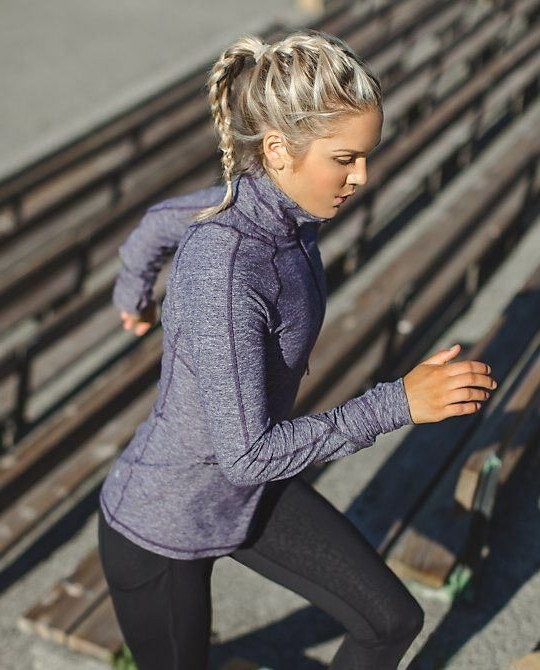 You Are What You Wear | Fitness | Pinterest | Gym Hairstyles, Gym Inside Latest Braided Hairstyles For Runners (View 9 of 15)