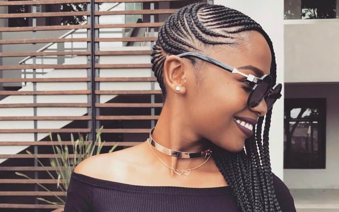 You Have To Try 'lemonade Braids', The Beyonce Inspired Side Cornrow For Best And Newest Side Cornrows Hairstyles (View 8 of 15)
